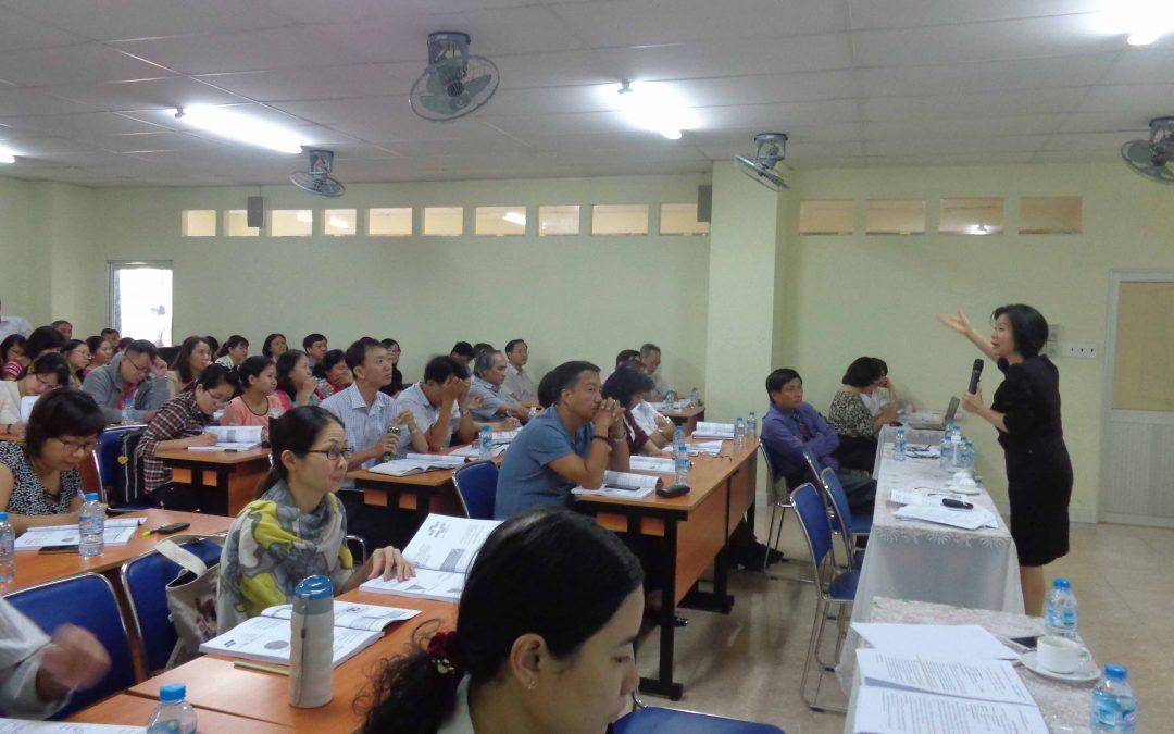 Tập huấn cho cán bộ, giảng viên, chuyên viên Đại học Tài Chính-Marketing