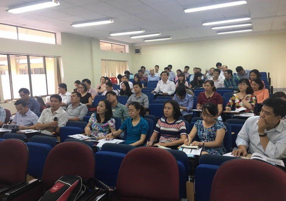 Tập huấn cho cán bộ, giảng viên, chuyên viên Đại học Mở Tp.Hồ Chí Minh